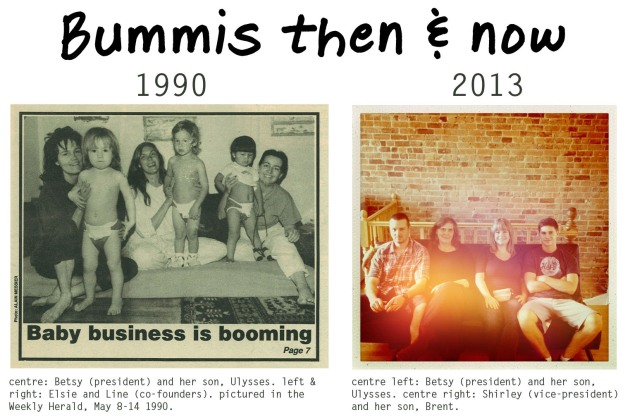 bummis then & now