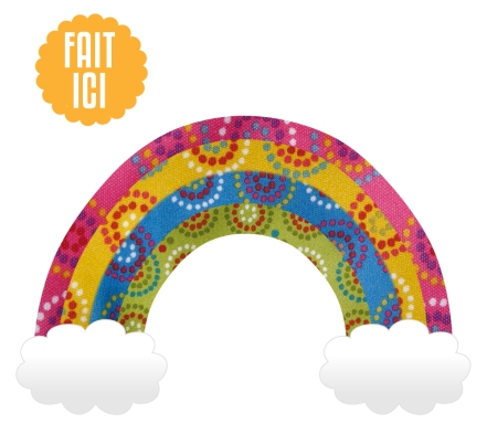 mini fab rainbow FR
