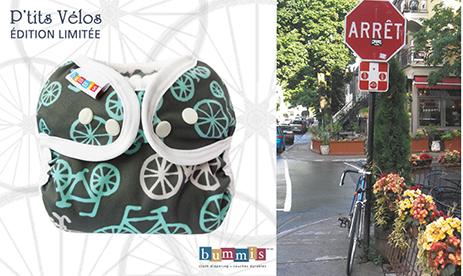 bike and diaper